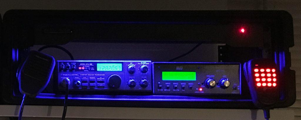Beacon rack with HTX-100